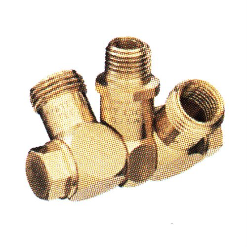 Tt Male Double Swivel Nozzle Body Brass