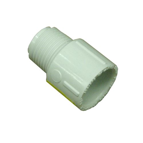 Adapter Plastic Male Sch