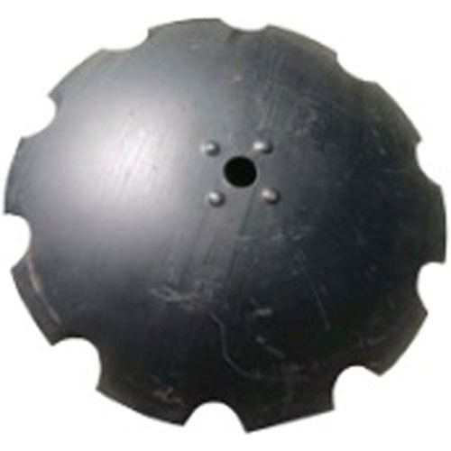 30 Disc Blade, Notched, 12 MM, 2-1/2 Rd. Axle, with 4 Bulges
