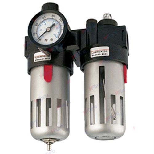 Combination Filter And Regulator With Lubricator