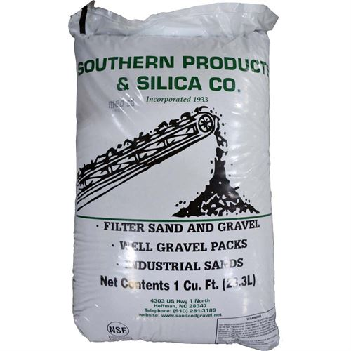 Sandblasting Sand, Medium Grit, 100 Lb. Bag