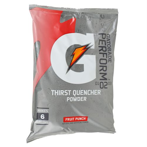 Gatorade Fruit Punch Oz Makes Gal