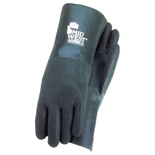 Pvc Coated Cotton Jersey Lined Glove