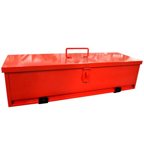 Tractor Tool Box, Red