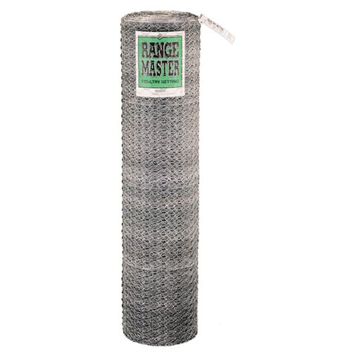 Poultry Netting, 2 In. Wire Mesh, 150 Ft. x 60 In. Roll
