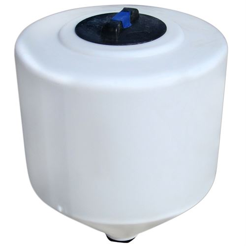 Gallon White Inductor Tank