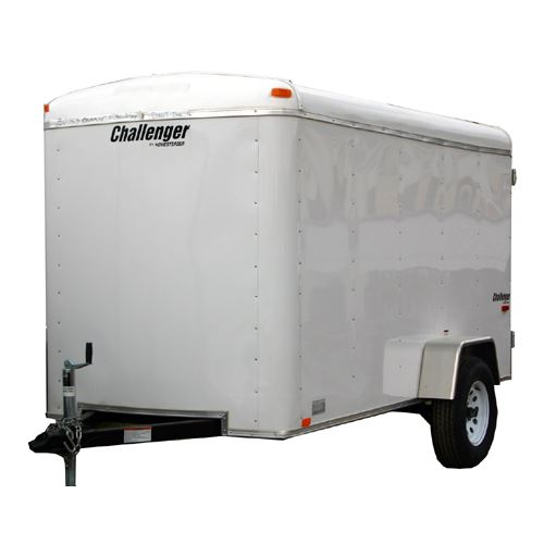 Homesteader Challenger Single Axle Enclosed Trailer, 6 Ft X 10 Ft