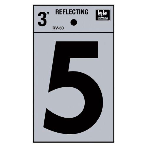 3 Reflective Number 5