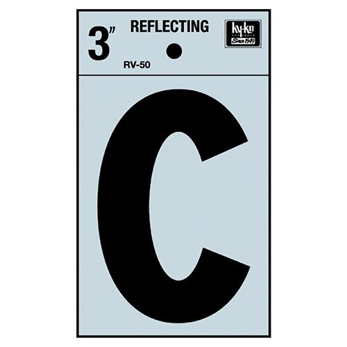 3 Reflective Letter C