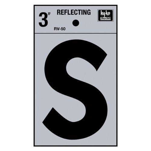 3 Reflective Letter S