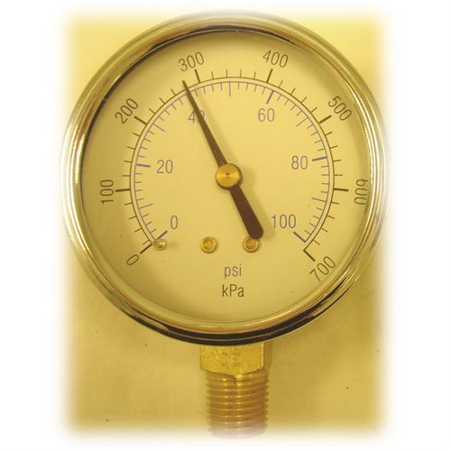 Psi Gauge For Texas Remcor Control Unit