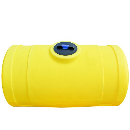 200 Gallon Norwesco Yellow Horizontal Tank, 32 In. D