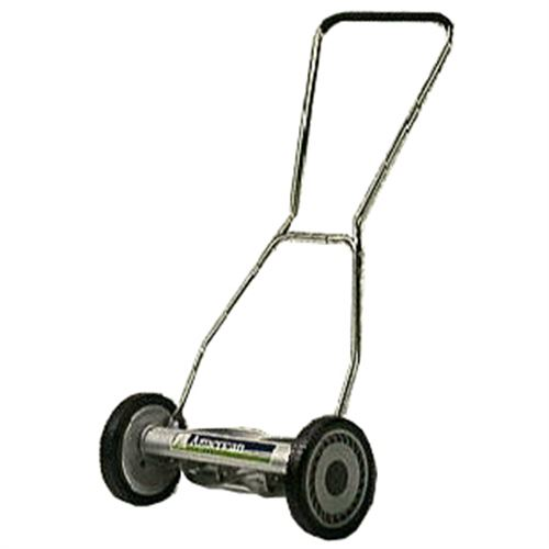 Reel Type Push Mower Cut