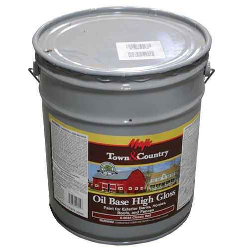 Barn & Roof Paint Red Oil Base Gallon