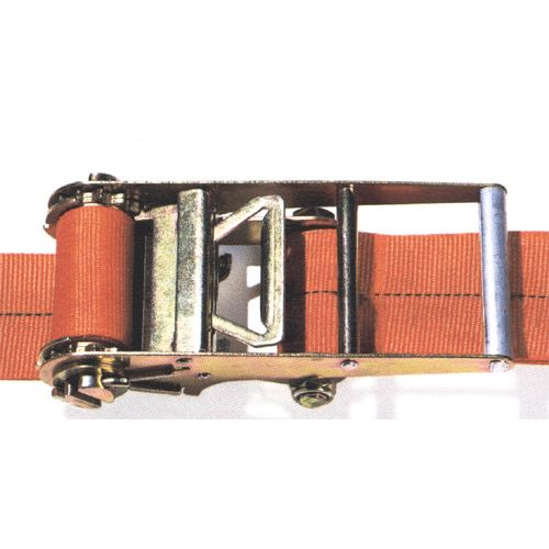 Ratchet Straps Orange With Flat Hook