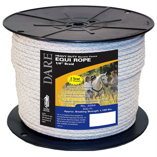 Equine Fencing Rope, 600 Ft.