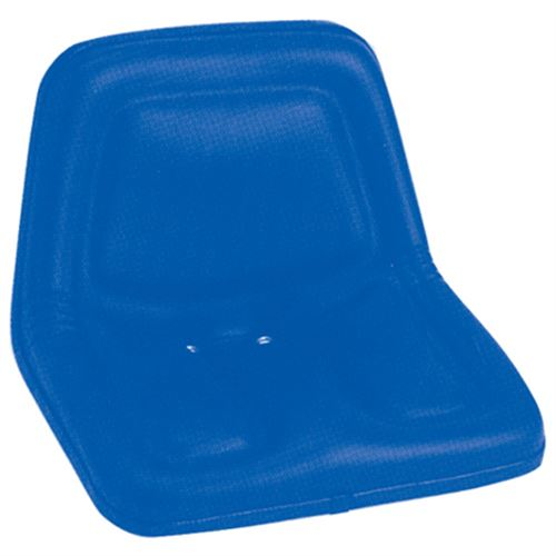 Deluxe High Back Seat With Steel Pan Blue