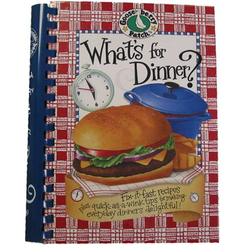 Whats For Dinner Cookbook