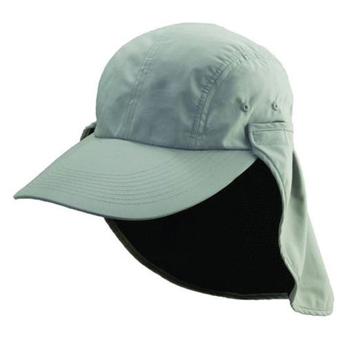 Fishing Cap with Removable Sun Shield