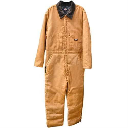 Duck Insulated Coveralls, Large