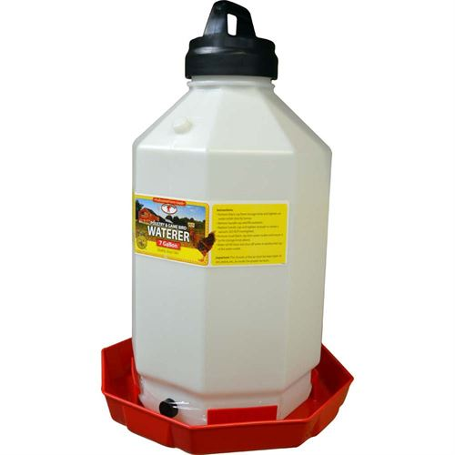 Poultry Waterer, 7 Gallon