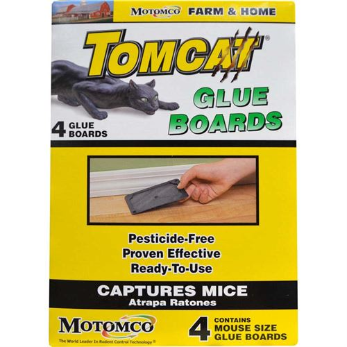 Tomcat Mouse Glue Board, 4 Pack