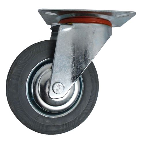 Swivel Gray Rubber Caster