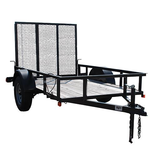 5 Ft. x 8 Ft. Utility Trailer, Single Axle, 2,260 Lb. Payload