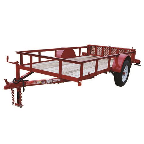 5 Ft. x 10 Ft. Utility Trailer, Single Axle, 2,900 Lb. Payload
