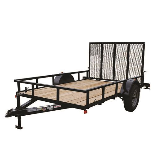 6 Ft. x 10 Ft. Utility Trailer, Single Axle, 1,940 Lbs. Payload