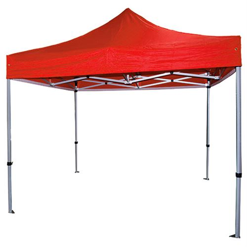 Pop Up Tent, Red, With Wheels and Case