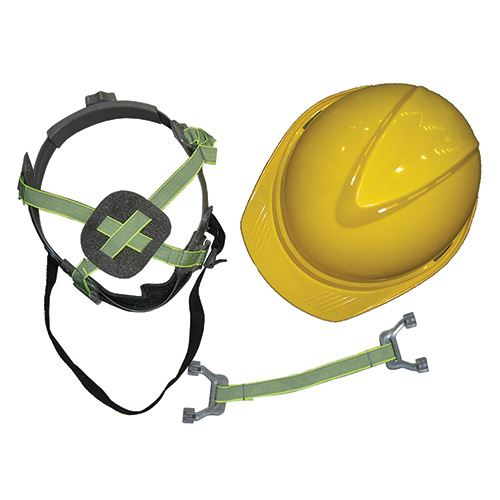 Hard Hat Yellow Abs Helmet 6 Pt Web Suspension