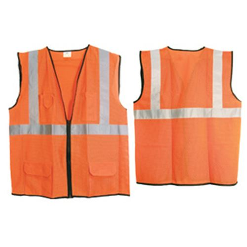 Class 2 Hi-Viz Orange Surveyors Vest, XL