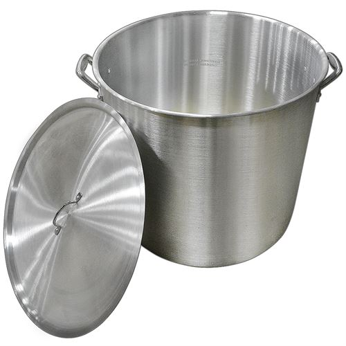 Carolina Cooker ® 160 Quart Aluminum Stock Pot with Lid