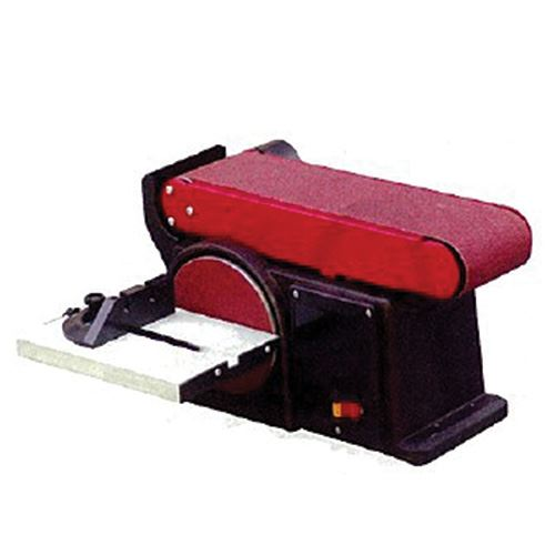 Combination 4 In. Belt and 6 In. Disc Sander