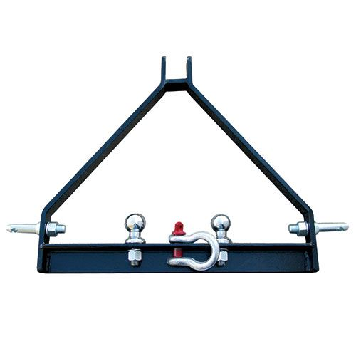 Tractor 3 Point Hitch Adapter, Includes Clevis, 1-7/8 In. Ball and 2 In. Ball, Cat 1