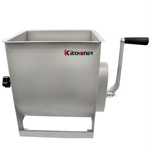 Stainless Steel Meat Mixer, 7 Gallon