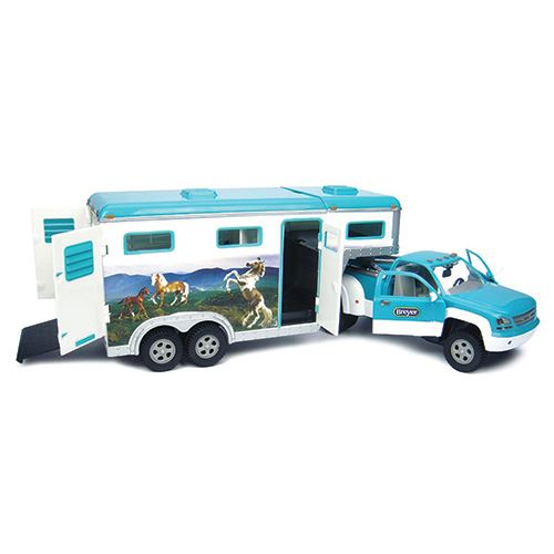 Breyer® Horse Crazy Truck and Gooseneck Trailer