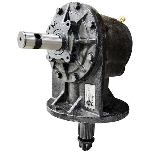 75HP Gearbox RW-610, Smooth 1-3/8 Input Shaft