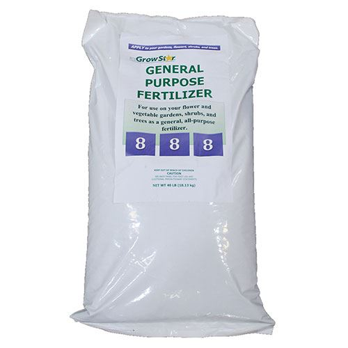 General Purpose Fertilizer, 8-8-8, 40 Lbs.