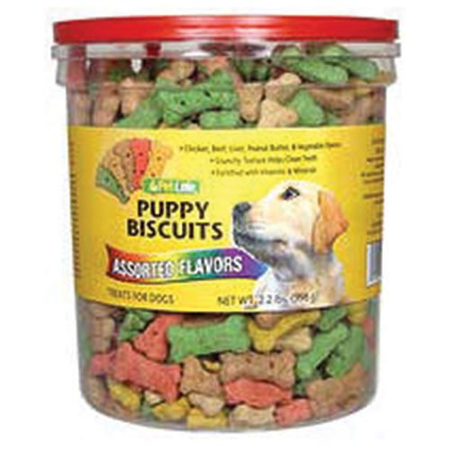 Puppy Biscuits, Assorted Flavors, 2.2 lbs.
