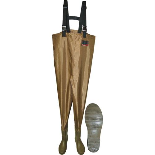 PVC Chest Waders, Size 10