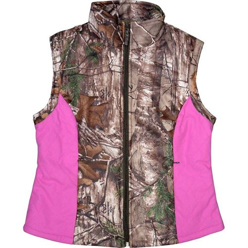 Womens Camo Vest, Size Medium