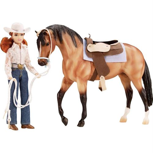Breyer® Lets Go Riding Western Horse Toy Set