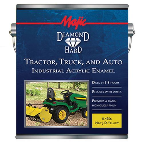 Tractor, Truck & Auto Paint, New JD Yellow, 1 Qt.