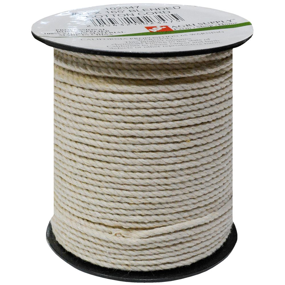 Blended Cotton Cord, #24 x 165 Ft.