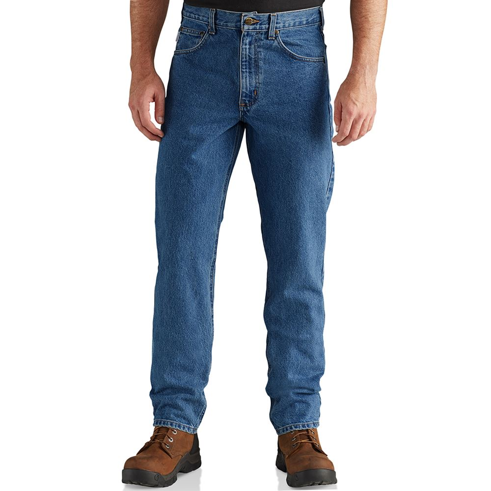 Straight Tapered Leg Jean 44 x 30