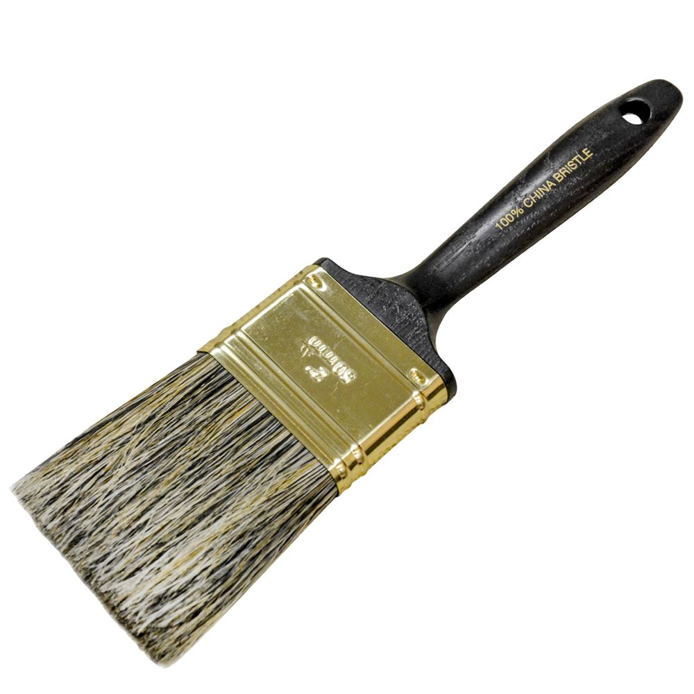 Paint Brush 2 Gray Bristle