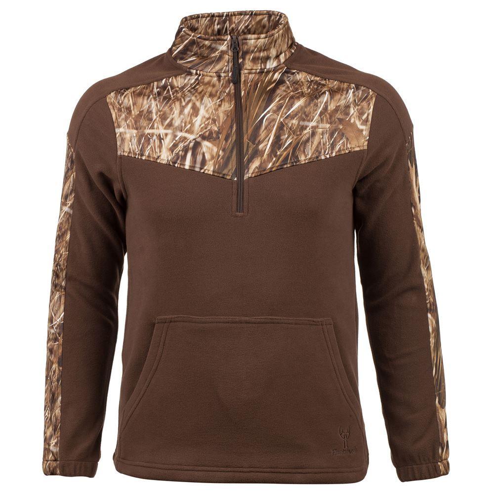 Mens Fleece Pullover, Size L