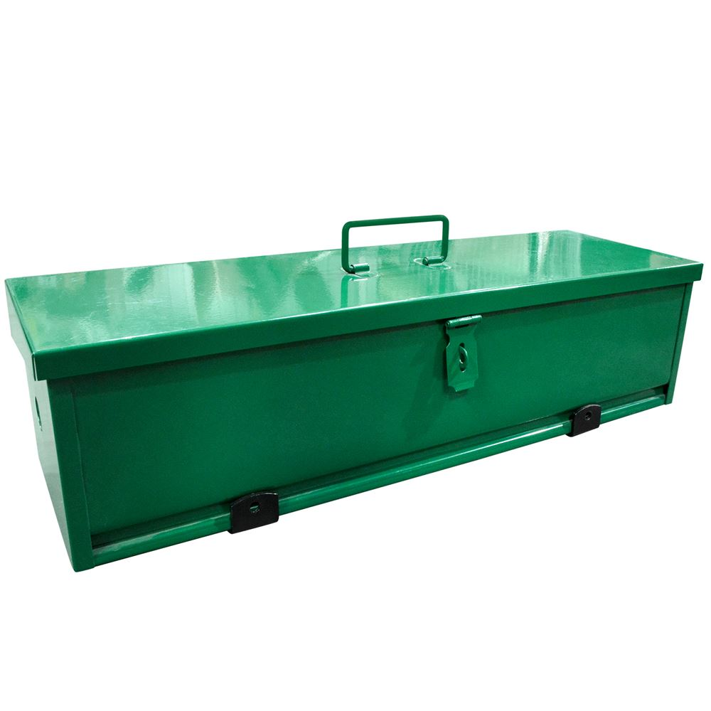 Tool Box For Tractor : Tractor tool box steel storage chest
